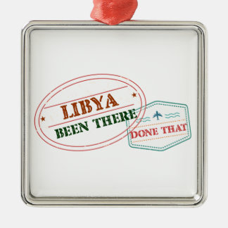 Libya Been There Done That Metal Ornament