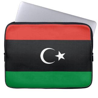 Libya country long flag nation symbol republic laptop sleeve