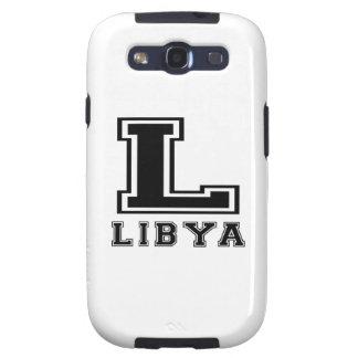 Libya Designs Galaxy SIII Case