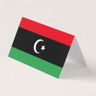 Libya Flag Card