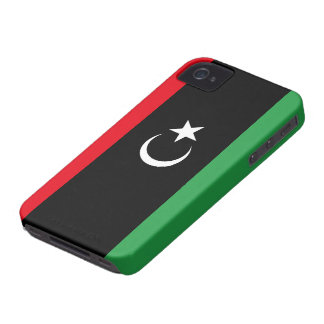 Libya Flag iPhone 4 Case