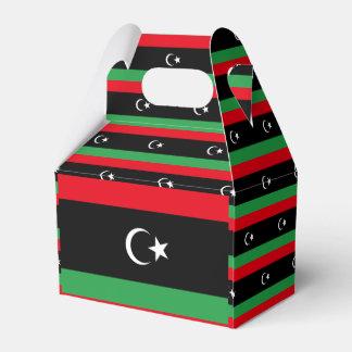 Libya Flag Favour Box