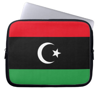 Libya Flag Laptop Sleeve