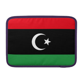Libya Flag MacBook Sleeve