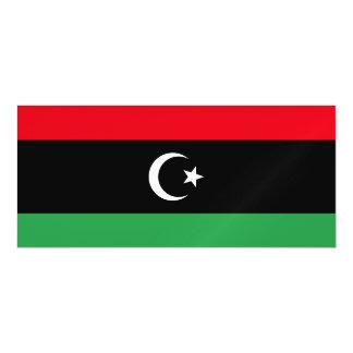 Libya Flag Magnetic Card