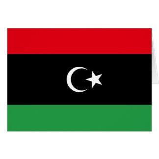 Libya Flag Note Card