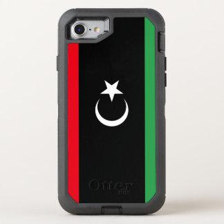 Libya Flag OtterBox Defender iPhone 8/7 Case