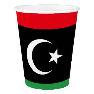 Libya Flag Paper Cup