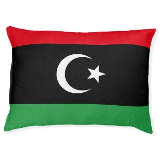 Libya Flag Pet Bed