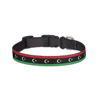Libya Flag Pet Collar