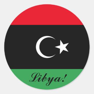 Libya Flag Stickers
