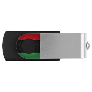 Libya Flag Swivel USB 2.0 Flash Drive