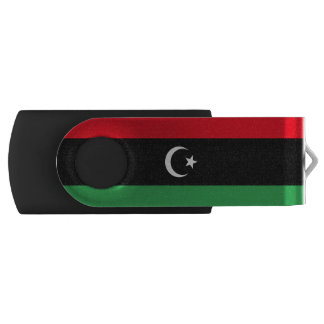 Libya Flag USB Flash Drive