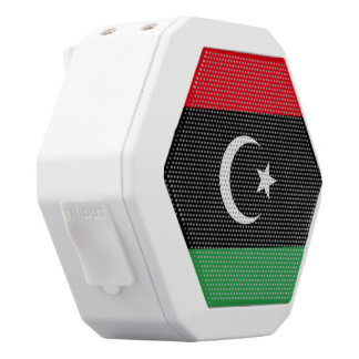 Libya Flag White Bluetooth Speaker