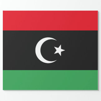 Libya Flag Wrapping Paper