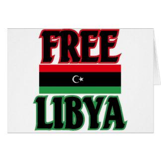 Libya - Free Libya ليبيا الحرة Card