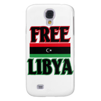 Libya - Free Libya ليبيا الحرة Samsung Galaxy S4 Covers