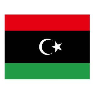 Libya – Libyan Flag Postcard
