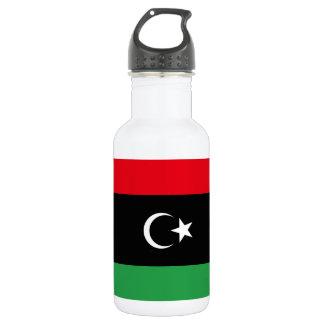 Libya National World Flag 532 Ml Water Bottle