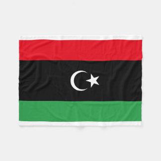 Libya National World Flag Fleece Blanket