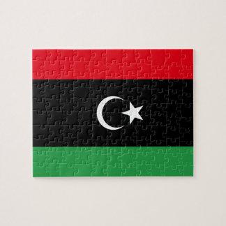 Libya National World Flag Jigsaw Puzzle