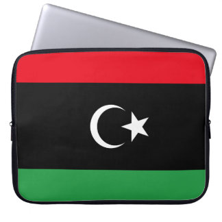 Libya National World Flag Laptop Sleeve