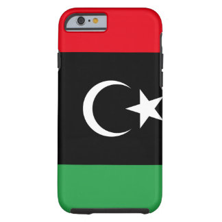 Libya National World Flag Tough iPhone 6 Case
