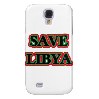 Libya - Save Libya Galaxy S4 Case