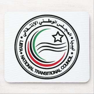 libya transitional council seal mouse pad