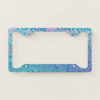 Licence Plate Frame Glitter Star Dust