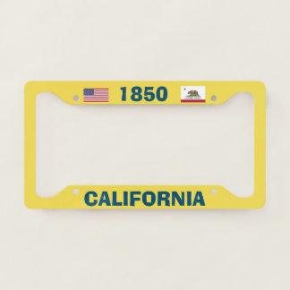 License Plate Frame California