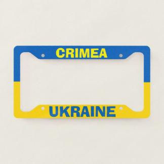 License Plate Frame California Crimea Ukraine