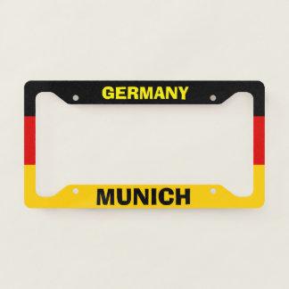 License Plate Frame Munich Germany
