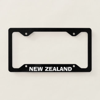 License Plate Frame New Zealand