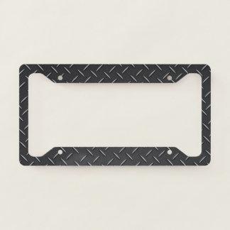 License Plate Frame - Stamped Steel Black
