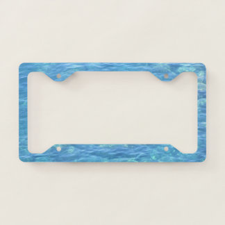 License Plate Holder--Tidepool Licence Plate Frame