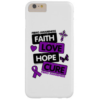 License Plates...Fibro Barely There iPhone 6 Plus Case