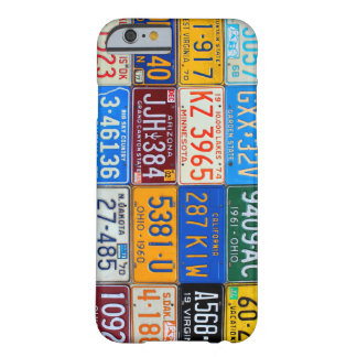 License Plates of USA - Our Colorful History Barely There iPhone 6 Case