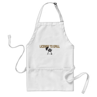 License To Grill Aprons