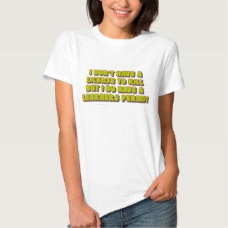 License To Kill Tee Shirt