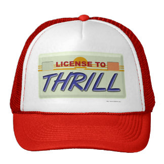 License To Thrill Mesh Hats