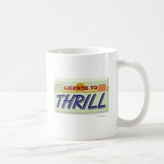 License To Thrill Mugs