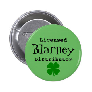 Licensed Blarney Distributor Pin On Button