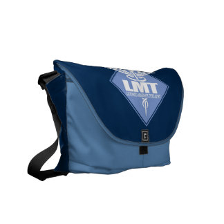 Licensed Massage Therapist Messenger Bag