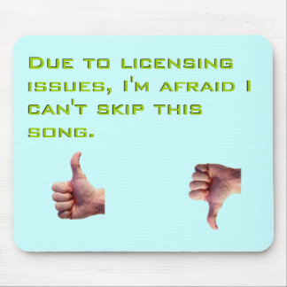 Licensing Issues Mouse Pad