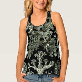 Lichen by Ernst Haeckel, Vintage Nature Plants Singlet