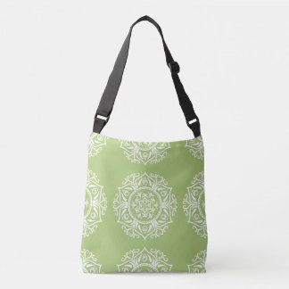 Lichen Mandala Crossbody Bag