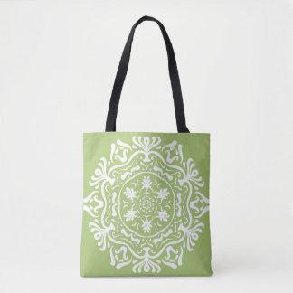 Lichen Mandala Tote Bag
