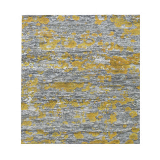 lichens on granite stone notepad