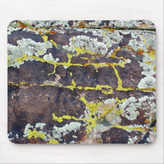 Lichens On Rock No. 3 Mouse Pad